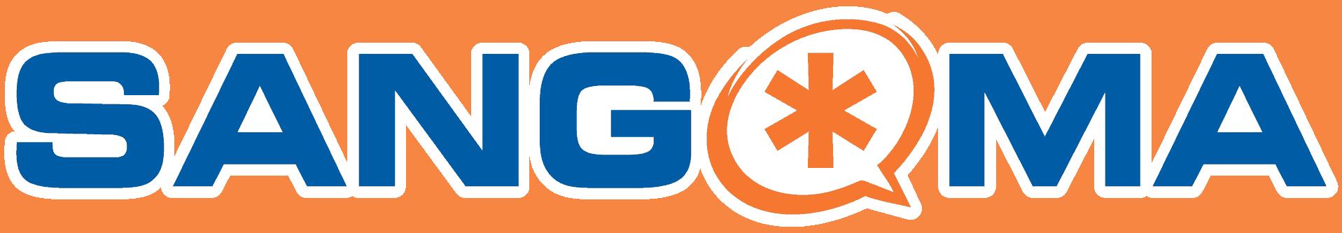 Sangoma Logo White Outline Bak8c1